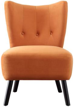 Wilma Orange Accent Chair