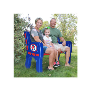 "Chicago Cubs 48"" Wide Park Bench"