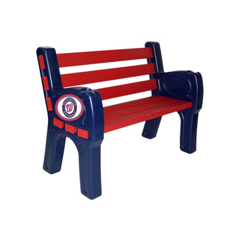 "Washington Nationals 48"" Wide Park Bench"