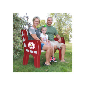 "St. Louis Cardinals 48"" Wide Park Bench"