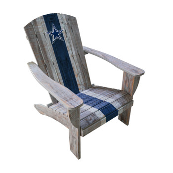 "COWBOYS 37.5"" Wide Adirondack Chair"