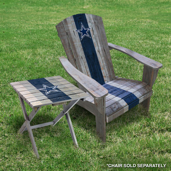 Dallas Cowboys Adirondack Table