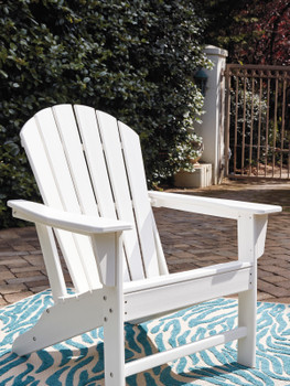 Champlain White Adirondack Chair