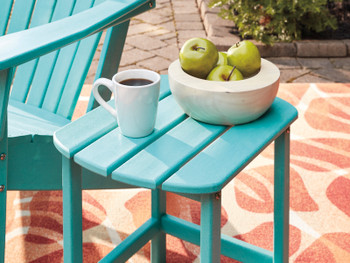 Champlain Turquoise Adirondack Side Table