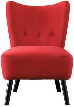 Wilma Red Accent Chair