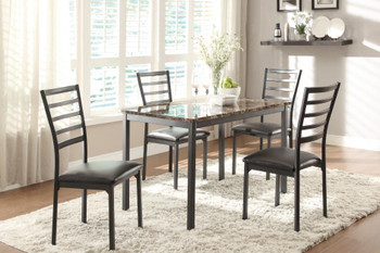 Flannery 5-Pc Dining Set
