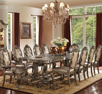 Humphrey Oak 11 Piece Dining Set