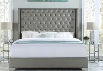 Xyla Gray Bed