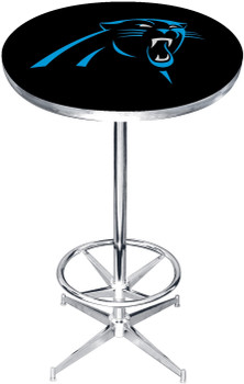 "Carolina Panthers 27"" Wide Bar Table"