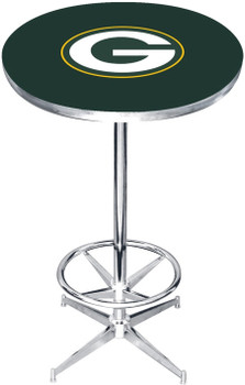 "Green Bay Packers 27"" Wide Bar Table"