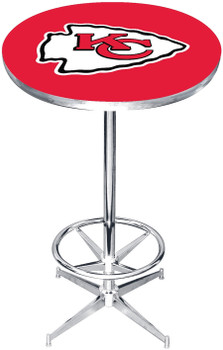 "Kansas City Chiefs 27"" Wide Bar Table"