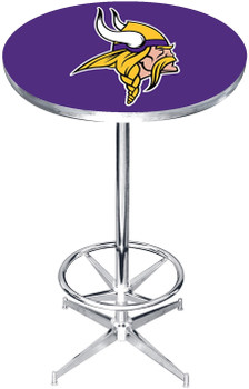 "Minnesota Vikings 27"" Wide Bar Table"