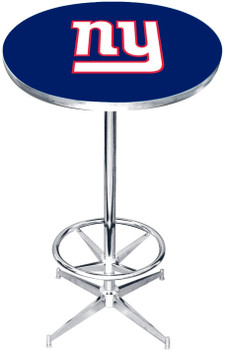 "New York Giants 27"" Wide Bar Table"