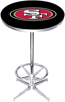 "San Francisco 49ers 27"" Wide Bar Table"