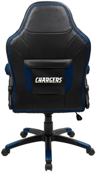 "Los Angeles Chargers 46"" Wide Oversized Gaming Chair"