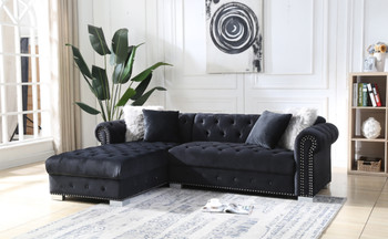 Blair Black Sectional