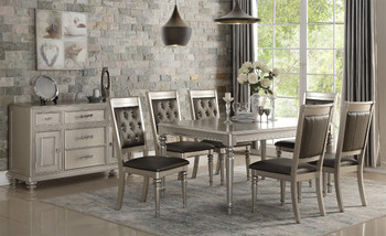 ANNABEL Silver Dining Set