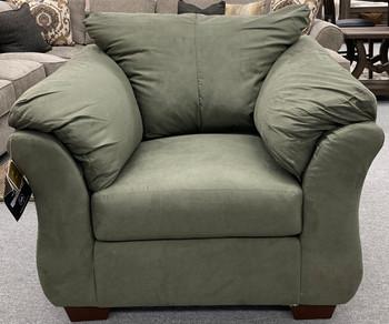 Edeline Artichoke Plush Chair