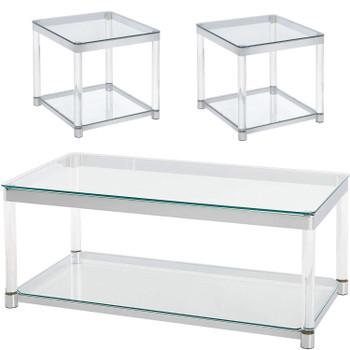 Kalista 3 Piece Table Set