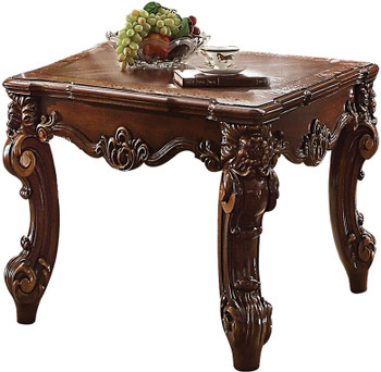 """Crownwood Cherry 26"""" Wide End Table"""