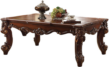 Crownwood Cherry 3 Piece Table Set