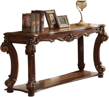 "Crownwood Cherry 59"" Wide Sofa Table"