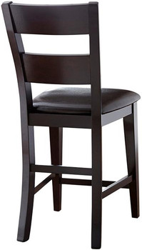 Kurt Dark Brown Counter Height Chair