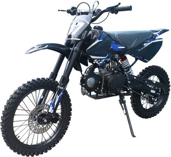 Crawler Blue/Black 125cc Dirt Bike