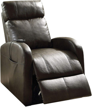 """Ruku Gray 28"""" Wide Recliner with Power Lift"""