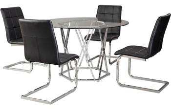 Prokti Black Chair