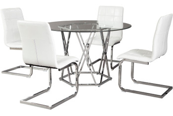 Prokti White Chair