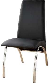Heizer Black Dining Chair
