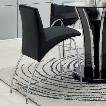 Heizer Black Counter Chair
