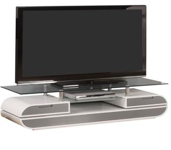 Zack White/Grey TV Stand