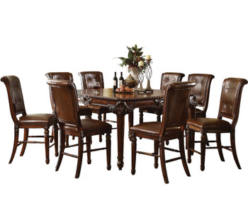 Clarence 9-PC Counter Dining Set