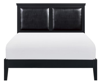 MELVIN Black Bedroom Set