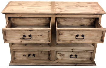 Colima Pine Wood Dresser
