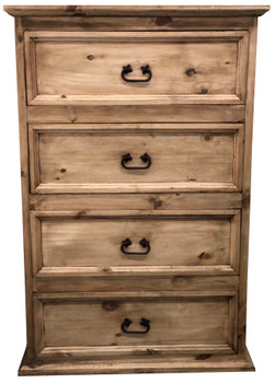 Colima Pine Wood Chest