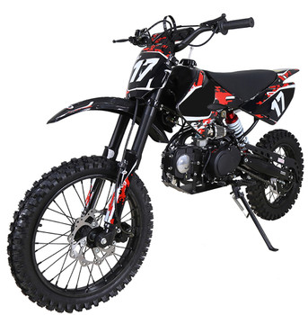 Crawler Red/Black 125cc Dirt Bike