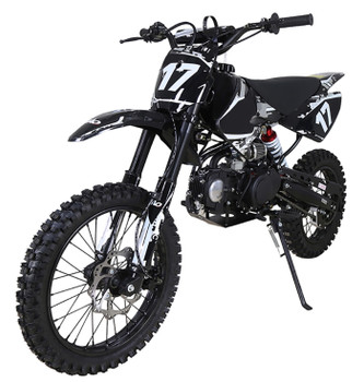 Crawler White/Black 125cc Dirt Bike