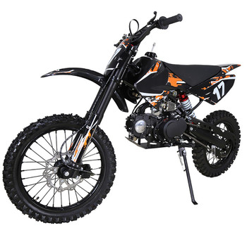 Crawler Orange/Black 125cc Dirt Bike