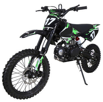 Crawler Green/Black 125cc Dirt Bike