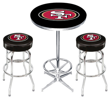 SAN FRANCISCO 49ERS Heavy-Duty 3 Piece Pub Set