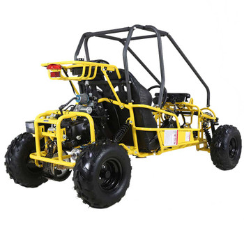 Mini Raptor 110cc Yellow Kids Go Kart