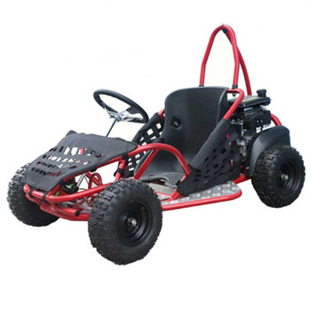 Thunder Red 80cc Gas Go Kart- Small Size