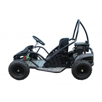 Thunder Black 80cc Gas Go Kart- Small Size