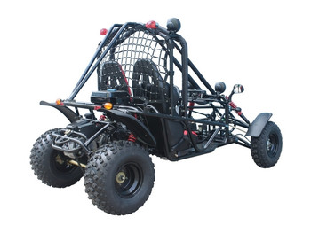 Trailhawk Black 169cc Adult Size Go Kart