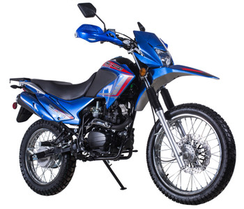 Roadrunner Blue Street Legal 250cc Motorcycle