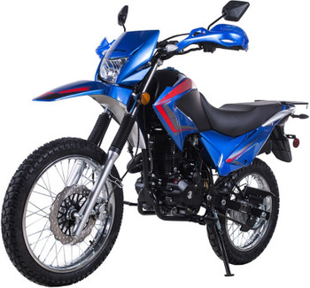 Roadrunner Blue 250cc Dirt Bike