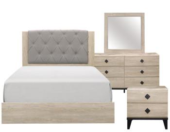 ANEA Cream Bedroom Set